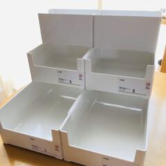 収納術/収納ケース/当選ありがとう/カインズ/skitto/スキット カインズスキットボックスを色々組み立てて…