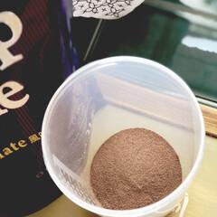 Bee up Style Chocolate風味   Bee up Style(ソイプロテイン)を使ったクチコミ「先日からモニターさせていただいてるBee…」(2枚目)
