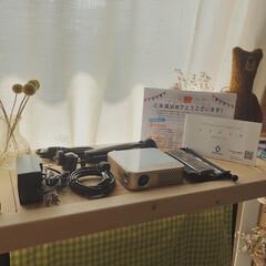 モバイル プロジェクター 小型 ワイヤレス 天井 ホームシアター 子供 壁 家庭用 コンパクト プロジェクター Bluetooth スマホ 接続 WiFi HDMI DVD ビジネス モバイルプロジェクター iPhone android 三脚 小型プロジェクター 天井 ホームプロジェクター ミニプロジェクター(カテゴリ未割り当て)を使ったクチコミ「「モバイルプロジェクターカベーニPRO」…」(2枚目)