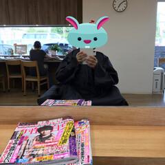 美容院/カラーリング カラーリング中です☆〜(ゝ。∂) キレイ…