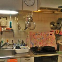 コンロ/コンロ周り/コンロ清掃/キッチンパネル/アイカ/ニトリ/... 見てくれてありがとうございます。 我が家…