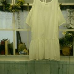 プルオーバー/ワンピース/ファッション/ハンドメイド 先週にかけて作った服3着😊。気に入ると同…(2枚目)