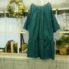 プルオーバー/ワンピース/ファッション/ハンドメイド 先週にかけて作った服3着😊。気に入ると同…(3枚目)