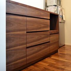 キッチンボード/収納家具/オーダー家具/サイズオーダー/日本製/オリジナル家具/... キッチンボード。