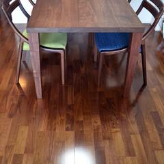 ウォルナット/オーダー家具/ダイニングテーブル/テーブル/無垢材/オリジナル家具/... Bliss table W1650×D8…