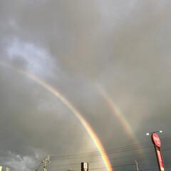 虹/おでかけ 台風の被害も少なくてよかったです。  久…