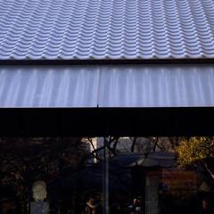 根津美術館/表参道/港区/美術館/瓦/和風/... 根津美術館の庇/雨だれが美しい