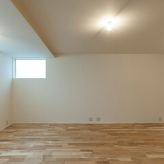 和風/和モダン/インテリア/建築/建築家/住まい/... 「白壁の家」は1階にリビングダイニングの…