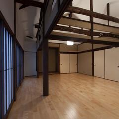 住まい/建築/設計/設計事務所/和風/和風住宅/... 「古包」は、欄間を既存利用したプロジェク…