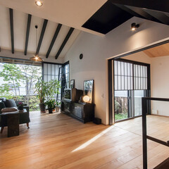 和風/和風住宅/家/マイホーム/和モダン/和モダン住宅/... 世田谷区に設計した「美しい空気の家」は、…