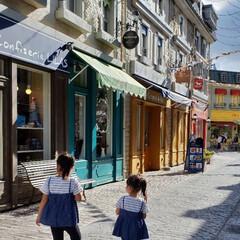 テーマパーク/リンクコーデ/おでかけ/ファッション 外国!?を思わせる町並み。実は富士急ハイ…