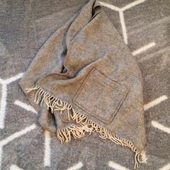 冬の一枚/愛用品/ショールウィズポケット/冬 ラプアンカンクリのショールウィズポケット…