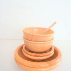 みんなにおすすめ/保育椀食器/手仕事 東北の手仕事の保育椀食器。 子ども達が離…