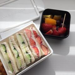 幸せわたしのごはん/お弁当/サンドイッチのお弁当/わたしのごはん DEAN&DELUCAのランチボックスは…