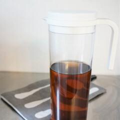 ピッチャー/麦茶入れ/キッチン用品/シンプル シンプルなピッチャー。麦茶入れとして 使…