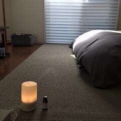 無印良品/アロマディフューザー/マークスアンドウェブ/寝室 爽やかなレモングラスの香りが好きで、無印…