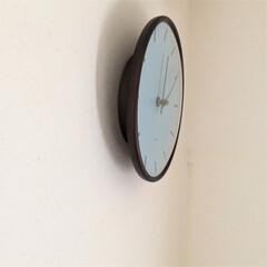 リミアな暮らし/壁掛け時計/北欧雑貨/アルネ・ヤコブセン 先日購入した、アルネ・ヤコブセンの 壁掛…