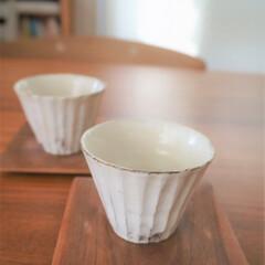 みんなにおすすめ/湯呑み/陶器 しのぎの湯呑みは、ずいぶん前に陶器屋さん…