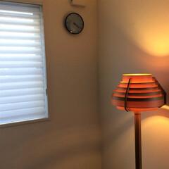 寝室インテリア/ヤコブソンランプ/北欧インテリア/すっきり暮らす 日が少し落ちた頃に、ヤコブソンランプを …
