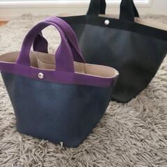 わたしのお気に入り/バッグ/エルベシャペリエ/GP 大きさの違う2つのバッグは、用途に合わせ…