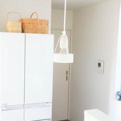 インテリア/キッチン/北欧インテリア/照明/ルイスポールセン/おうち キッチンの照明は、ルイスポールセンのパー…