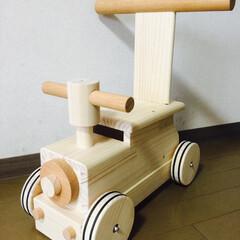 手押し車/乗り物/おもちゃ/木のおもちゃ/手作りおもちゃ/DIY/... 過去作品です!
