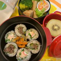 JKの母/手作り/JK弁当/LIMIAごはんクラブ いつかのお弁当🍱 海苔巻き弁当  なます…