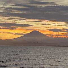 「江ノ島の叔母の家へー富士山めちゃくちゃキ…」(1枚目)