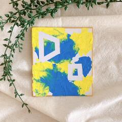 お家時間を楽しもう/お家時間/息子/アート 1歳8ヶ月の息子とアートを楽しむ