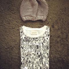 ウォーリー/ベレー帽/ファッション ウォーリーTシャツ