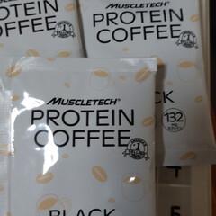 プロテインコーヒー | マッスルテック(その他プロテイン)を使ったクチコミ「プロテインコーヒー届きました😊 休みの日…」