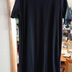 フォロー大歓迎/ワンピース/夏服/おしゃれ アベイルで夏用の服を買いました😊 黒ワン…(2枚目)