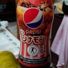 フォロー大歓迎/トクホ/ペピシ/シナモン ペピシからシナモン味コーラが出てました😊…