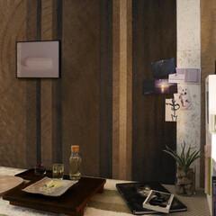 左官/パネル/自然素材/コーヒーリサイクル/ナチュラル MAG. ART PANEL/coffe…