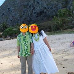 オアフ島 オアフ島で私はフラショップでオーダーした…