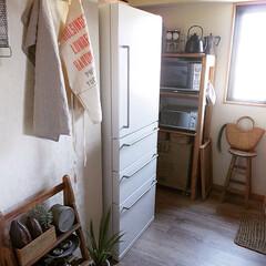 冷蔵庫/ヴィンテージスタイル/ヴィンテージ/アンティーク/古道具/賃貸DIY/... 【無印週間】 6/25(月)まで無印週間…