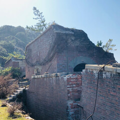 天空の城ラピュタ/秋/風景/猫/グルメ/おでかけ/... 和歌山県、友ヶ島 天空の城を探索してきま…(3枚目)
