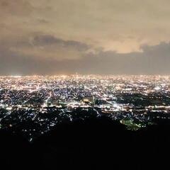 夜景 大阪市内の夜景です 皆さん台風の影響大丈…