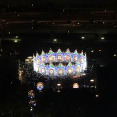 郵便ポスト/イルミネーション/おでかけ/風景/クリスマス 神戸ルミナリエ 目線を変えて観に行ってき…