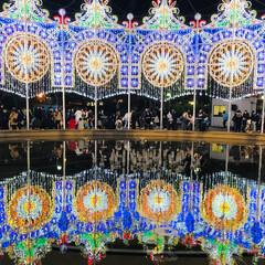 イルミネーション/クリスマスツリー/風景/おでかけ/クリスマス 前置きはさて置き(笑) 神戸はルミナリエ…