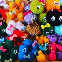 バザー/小学校/雑貨/100均/セリア/ダイソー/... 小学校のバザーで売る小物も作りました。