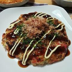 プリンアラモード風/Lucaさんのレシピ/もずく入り/お好み焼き/おうちごはん/フード/... 今日は予定が狂ってしまいご飯がないのでお…