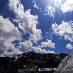 春のリフト/空/巨大雪だるま/雪/春のフォト投稿キャンペーン/GW/... 越後湯沢に行って参りました\(^o^)/…(1枚目)