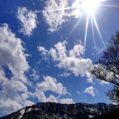 春のリフト/空/巨大雪だるま/雪/春のフォト投稿キャンペーン/GW/... 越後湯沢に行って参りました\(^o^)/…(2枚目)
