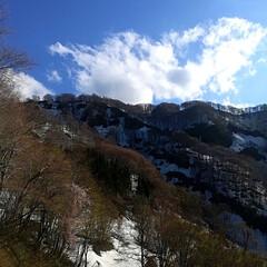 春のリフト/空/巨大雪だるま/雪/春のフォト投稿キャンペーン/GW/... 越後湯沢に行って参りました\(^o^)/…(8枚目)