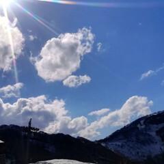 春のリフト/空/巨大雪だるま/雪/春のフォト投稿キャンペーン/GW/... 越後湯沢に行って参りました\(^o^)/…(5枚目)