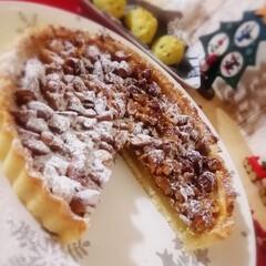 Natural Kitchen/クリスマス2019/リミアの冬暮らし/ダイソー/セリア/100均/... さつまいもとキャラメルナッツのタルトを作…(2枚目)