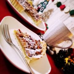 Natural Kitchen/クリスマス2019/リミアの冬暮らし/ダイソー/セリア/100均/... さつまいもとキャラメルナッツのタルトを作…(1枚目)