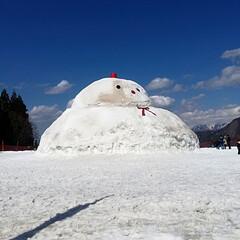 春のリフト/空/巨大雪だるま/雪/春のフォト投稿キャンペーン/GW/... 越後湯沢に行って参りました\(^o^)/…(3枚目)