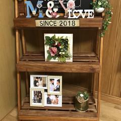 DIY/すのこDIY/100均DIY/コルクボード お友達の結婚祝いにプレゼントしたdiyセ…